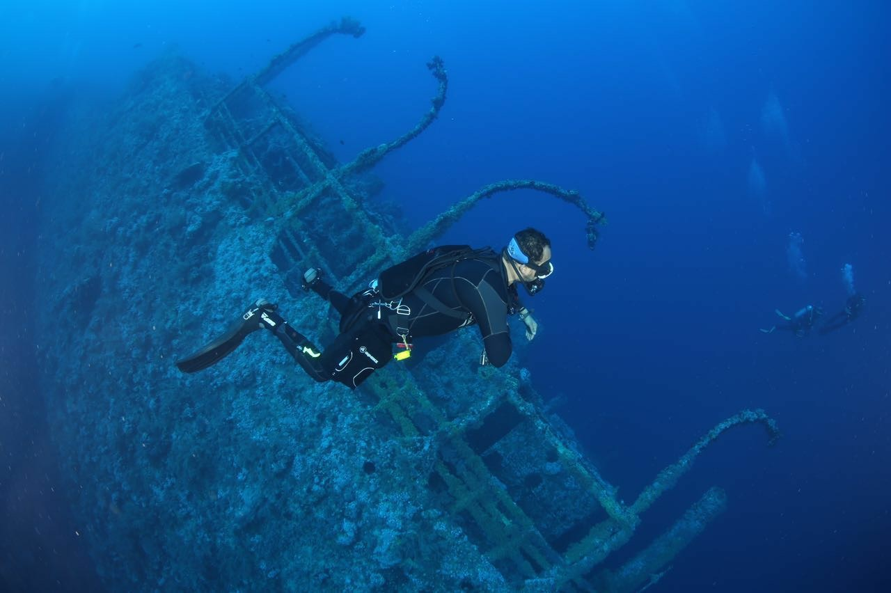 Wreck diving in the South