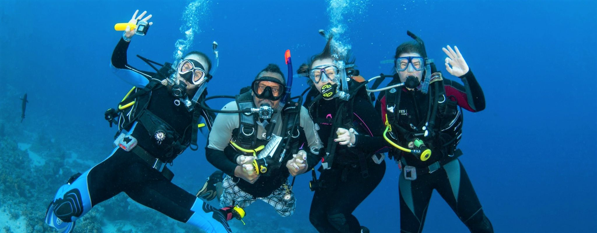 Learn to dive in the Sharm el Sheikh, Red Sea