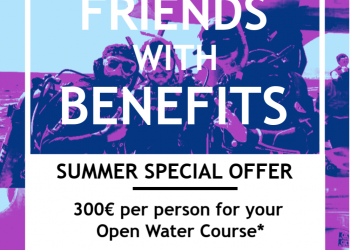 OPEN WATER COURSE - 300€ pp