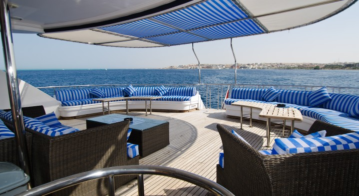 Relax in style on one of 2 spacious sundecks