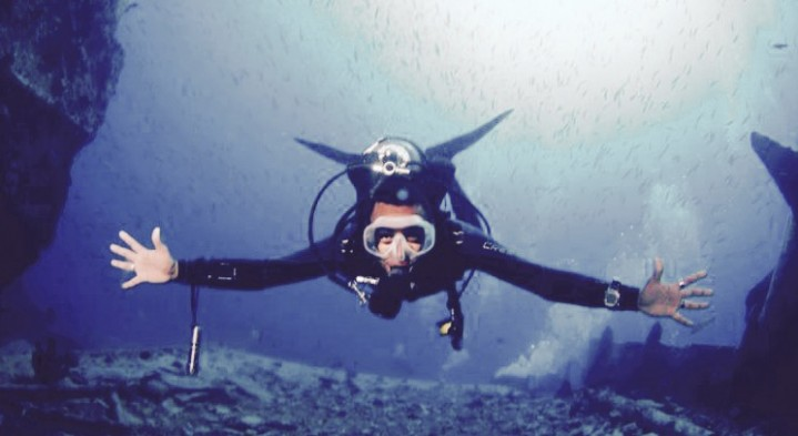 An interview with PADI Master Scuba Diver Trainer,  Kamel Mohamed