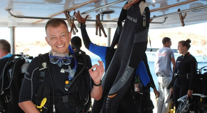 Learn to dive in Sharm el Shiekh