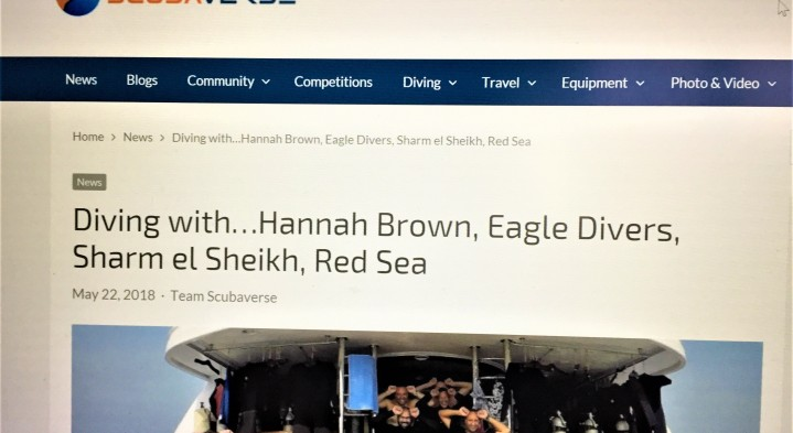 Scubaverse dives in with our PADI instructor Hannah